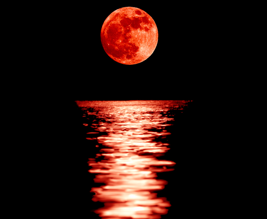 Blood moons shemitas earthquakes separating fact from What does it mean when the moon is pink